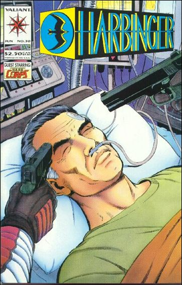 Harbinger (1992) 30-A by Valiant