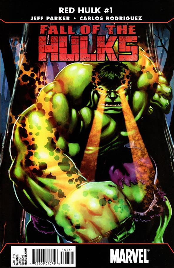 Fall of the Hulks: Red Hulk 1-A by Marvel