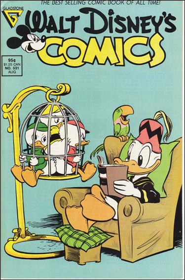 Walt Disney's Comics and Stories (1940) 531-A by Dell