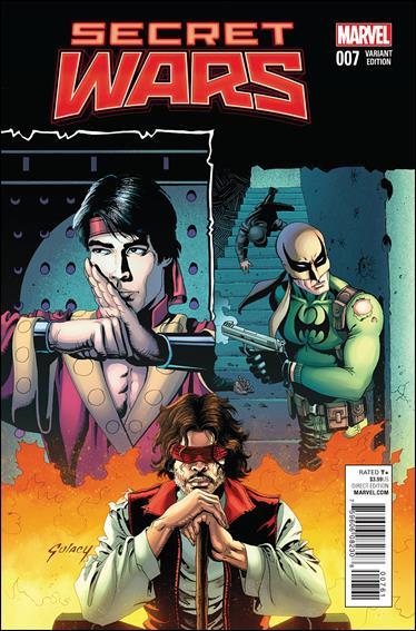Secret Wars 7-C by Marvel