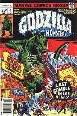 Godzilla (1977) 9-A by Marvel