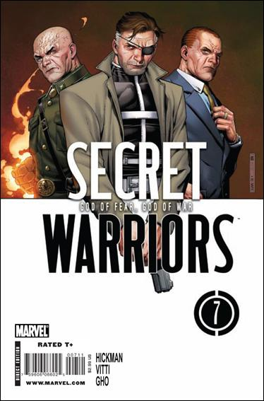 Secret Warriors 7-A by Marvel
