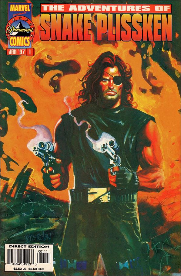 Adventures of Snake Plissken 1-A by Marvel