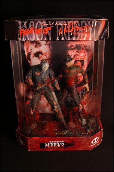 Movie Maniacs (Series 1) Special Edition Jason and Freddy by McFarlane Toys