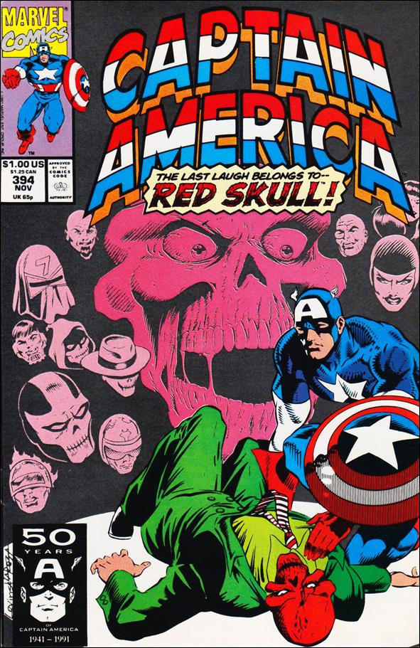 Captain America (1968) 394-A by Marvel