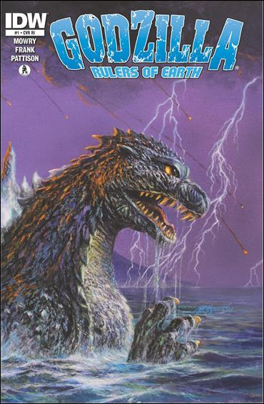 Godzilla: Rulers of the Earth 1-C by IDW