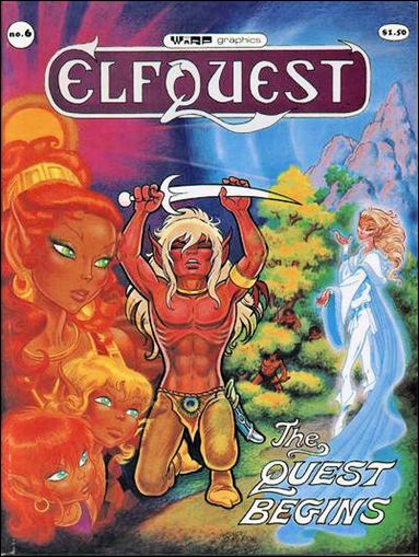Elfquest (1978) 6-C by Warp Graphics