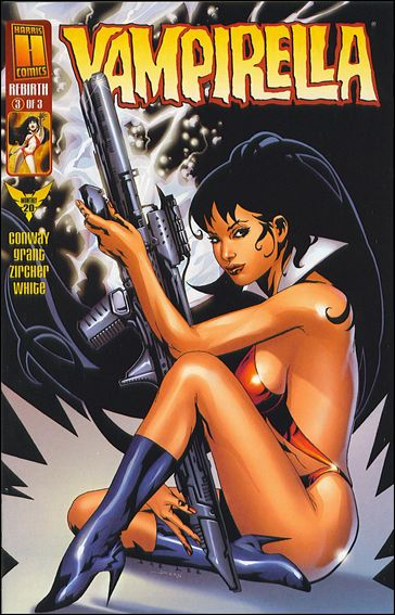 Vampirella Monthly 20-A by Harris