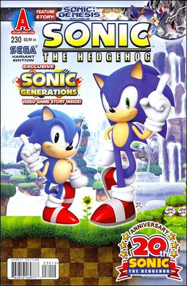 Sonic the Hedgehog (1993) 230-B by Archie