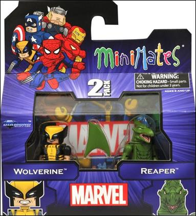 Marvel Minimates (Exclusives) Wolverine and Reaper by Diamond Select