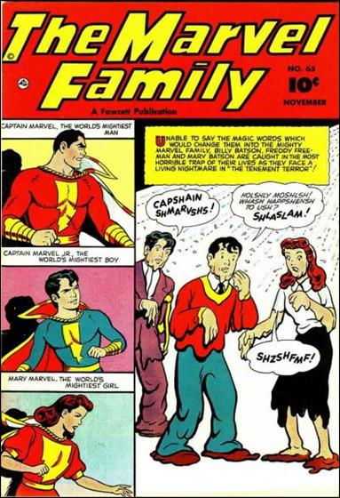 Marvel Family 65-A by Fawcett