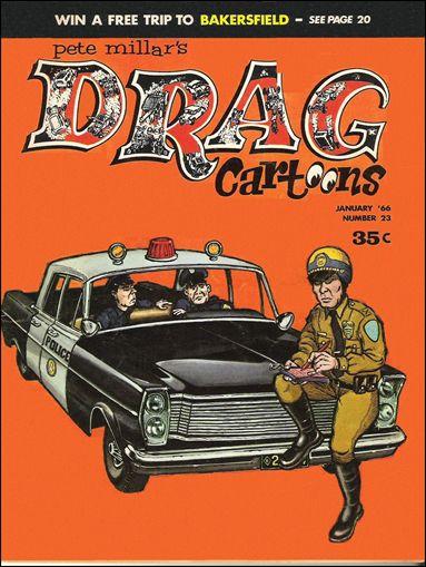 Drag Cartoons (1963) 23-A by Millar