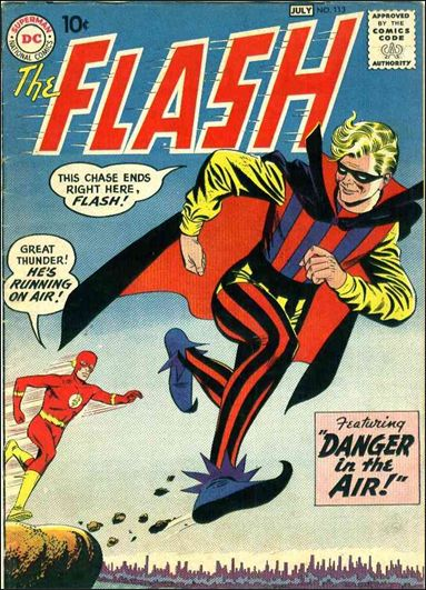 Flash (1959) 113-A by DC