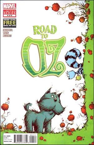 Road to Oz 4-A by Marvel