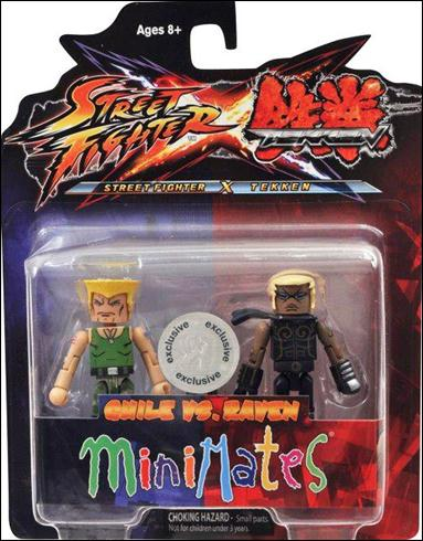 Street Fighter X Tekken Minimates (Exclusives) Guile vs Raven by Diamond Select