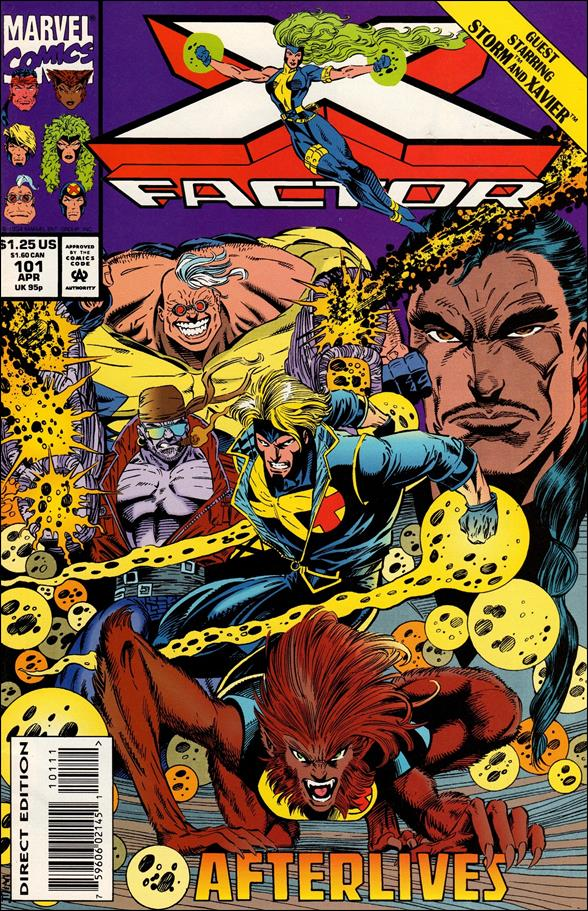 X-Factor (1986) 101-A by Marvel