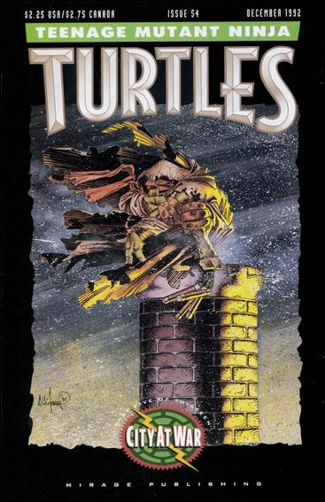 Teenage Mutant Ninja Turtles (1984) 54-A by Mirage
