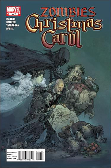 Marvel Zombies Christmas Carol 1-A by Marvel