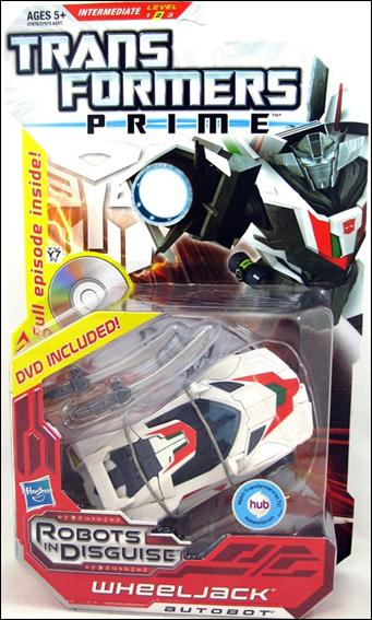 Transformers Prime (Deluxe Class) Wheeljack with DVD by Hasbro