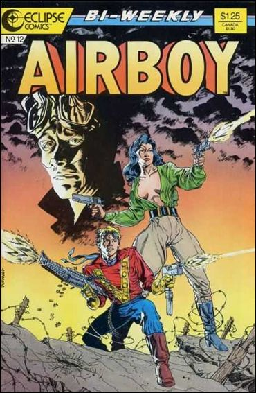Airboy (1986) 12-A by Eclipse