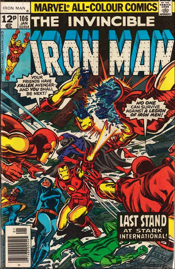 Iron Man (1968) 106-B by Marvel