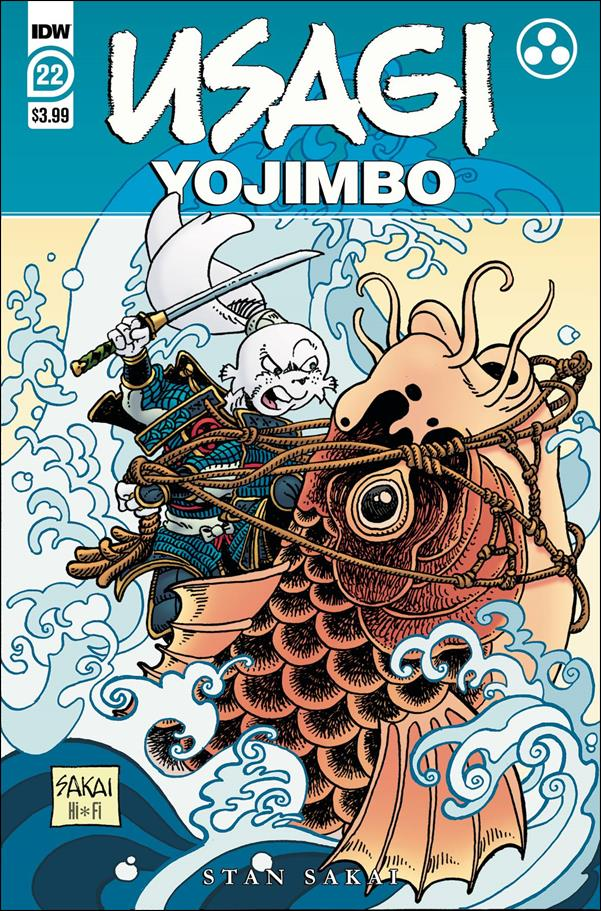 Usagi Yojimbo (2019) 22-A by IDW