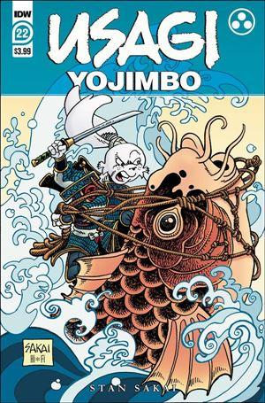 Usagi Yojimbo (2019) 22-A