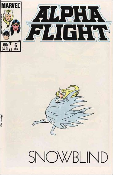 Alpha Flight (1983) 6-A by Marvel