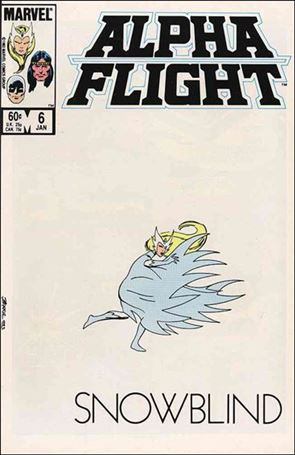 Alpha Flight (1983) 6-A