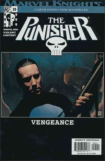 Punisher (2001) 25-A by Marvel