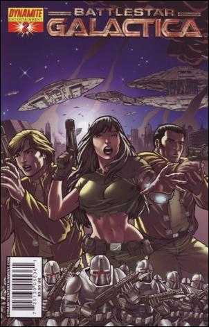 Classic Battlestar Galactica 2-A by Dynamite Entertainment