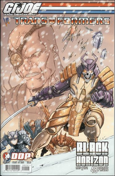 G.I. Joe vs the Transformers: Black Horizon 2-A by Devil's Due