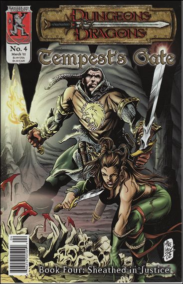 Dungeons and Dragons: Tempest's Gate 4-A by Kenzer and Company