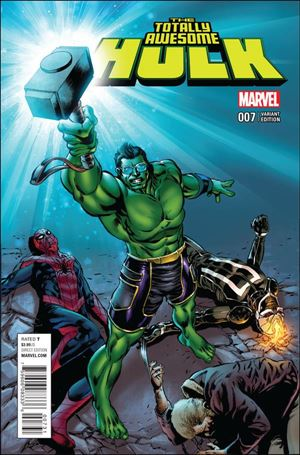 Totally Awesome Hulk 7-B