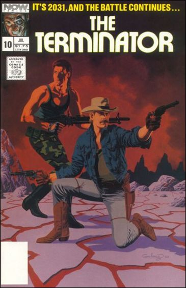 Terminator (1988) 10-A by Now Comics