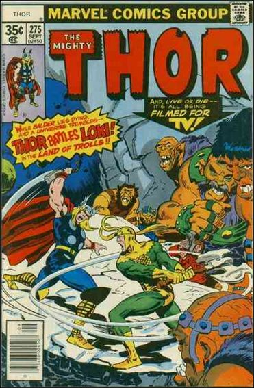 Thor (1966) 275-A by Marvel