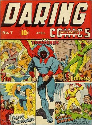 Daring Mystery Comics 7-A by Timely