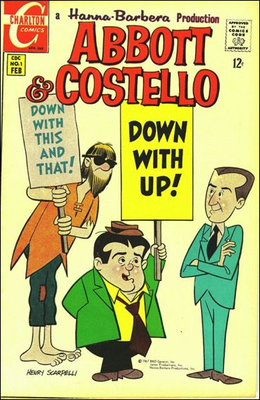 Abbott and Costello (1968) 1-A by Charlton