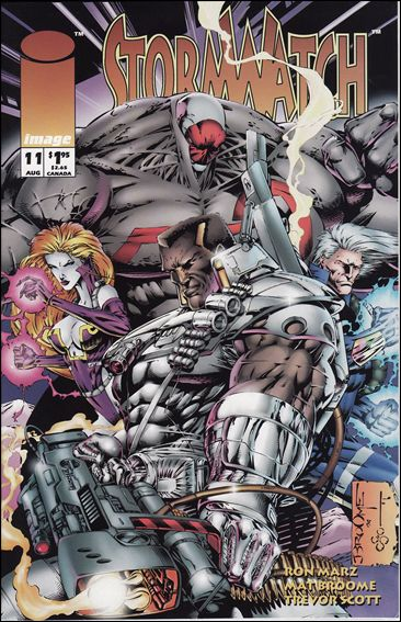 StormWatch (1993) 11-A by Image