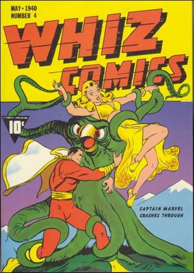 Whiz Comics 5-A by Fawcett