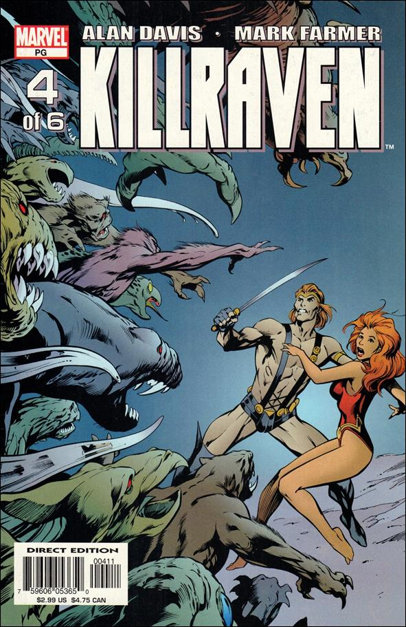 Killraven (2002) 4-A by Marvel