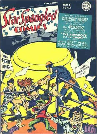 Star Spangled Comics (1941) 20-A by DC