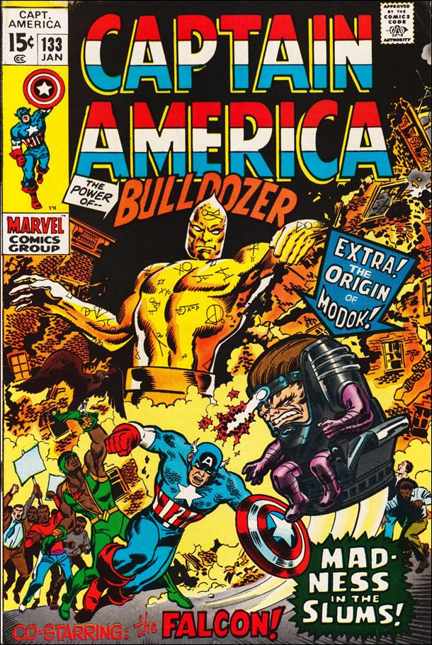 Captain America (1968) 133-A by Marvel
