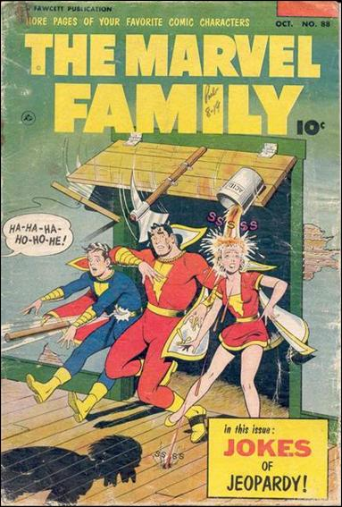 Marvel Family 88-A by Fawcett