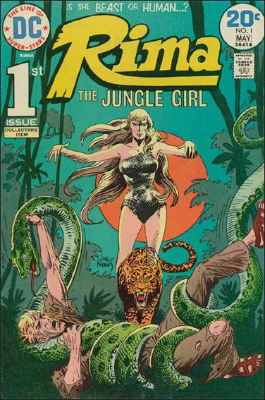 Rima Jungle Girl 1-A by DC