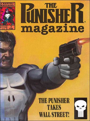 Punisher Magazine 7-A by Marvel