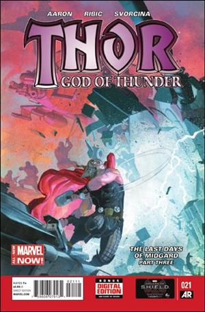 Thor: God of Thunder 21-A