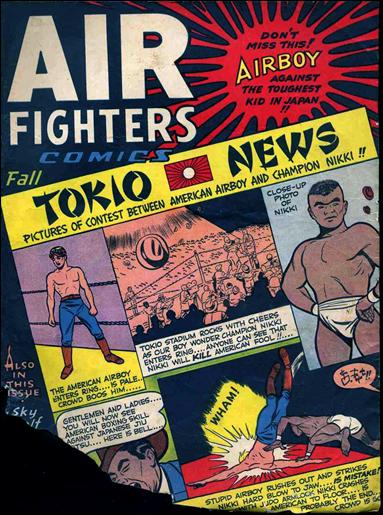 Air Fighters Comics (1943) 10-A by Hillman