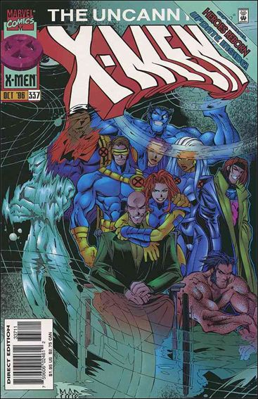 Uncanny X-Men (1981) 337-A by Marvel