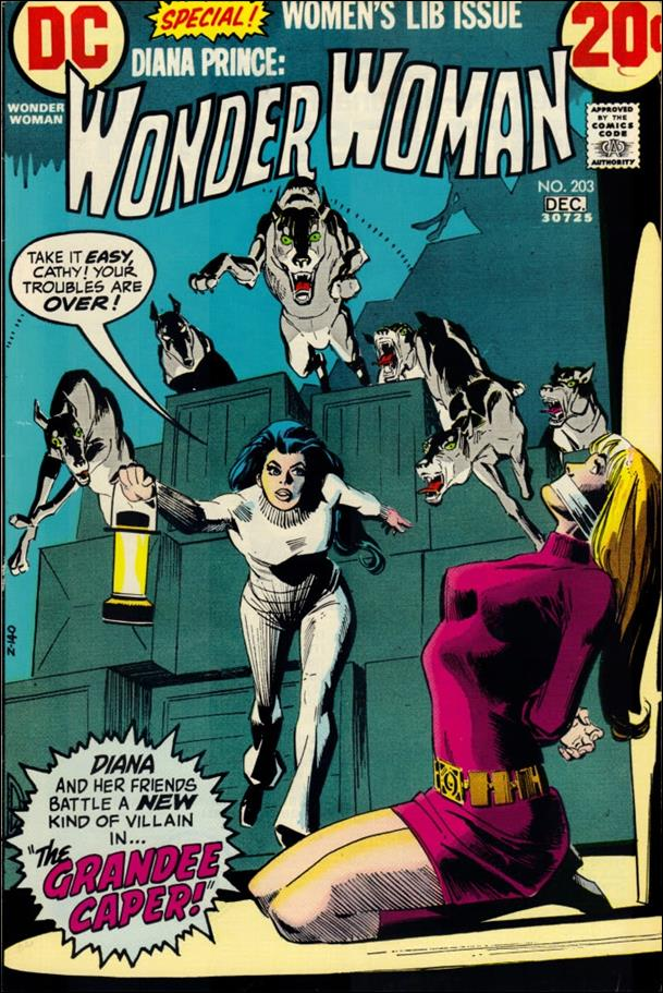 Wonder Woman (1942) 203-A by DC